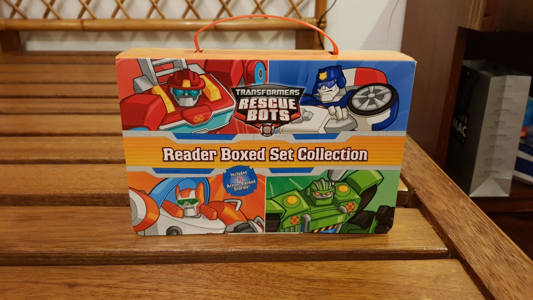 Transformers Rescue Bots Reading Set on Carousell