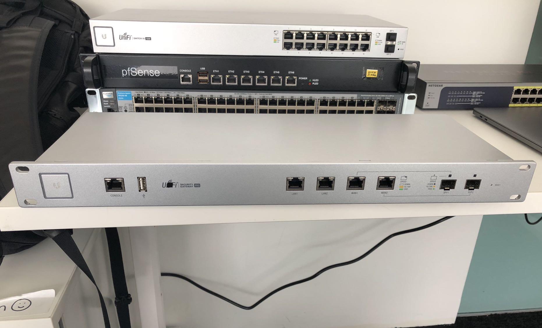 Ubiquiti Unifi Security Gateway Pro, Electronics, Others on
