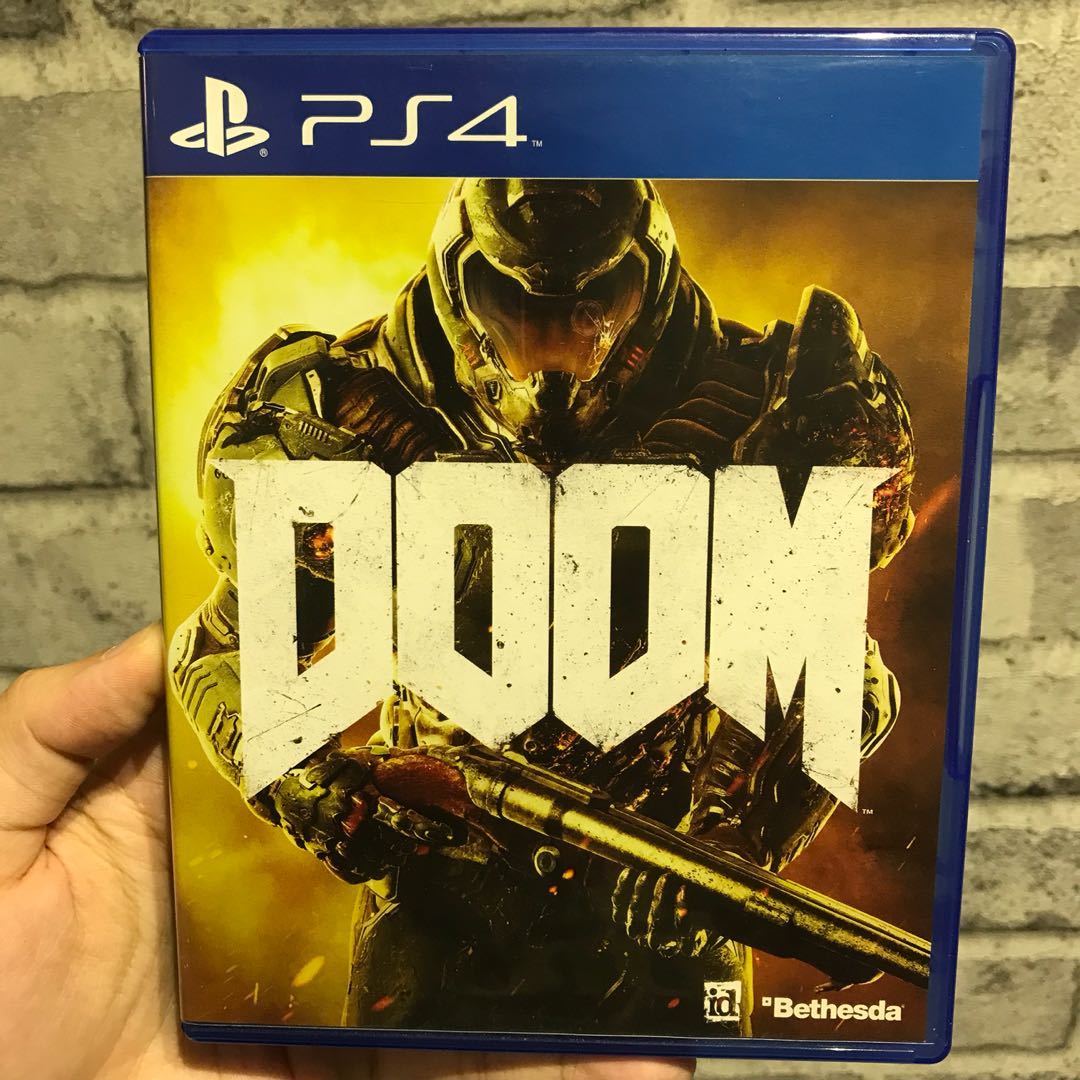 [USED] PS4 Game - Doom