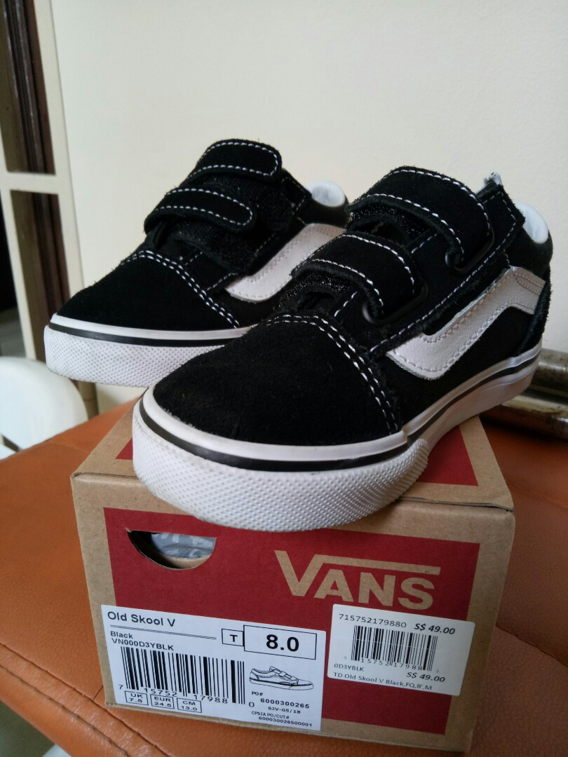7632b1ffb3af49 Vans Old Skool Kids Size US 8