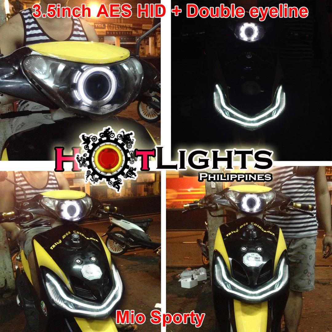 Yamaha mio sporty projector setup motorbikes on carousell