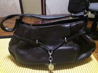 Renoir Genuine Leather Shoulder Bag