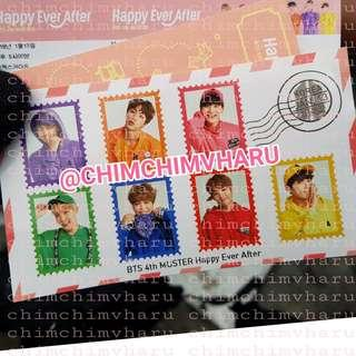 Special BTS 4th Muster sticker - ARMY Booth event (Only open sell to previous buyer & current buyer only)