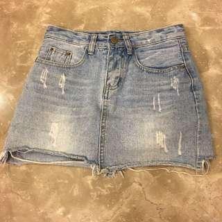 牛仔褲裙S