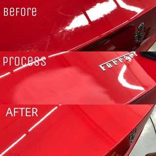Car Polishing + 1 YEAR FREE MAINTAINANCE CAR WASH