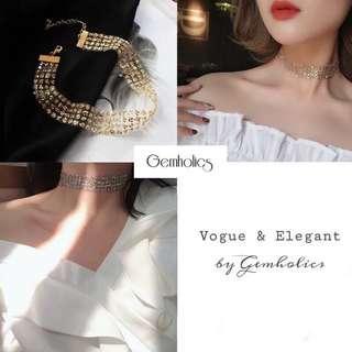 Lola Elegant Choker Necklace
