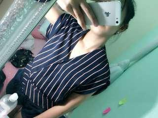 Preloved kimono striped