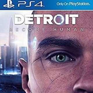 PS4 Detroit: Become Human 中英版