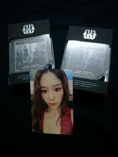 SNSD Oh!GG Lil' Touch Photo Card Taeyeon