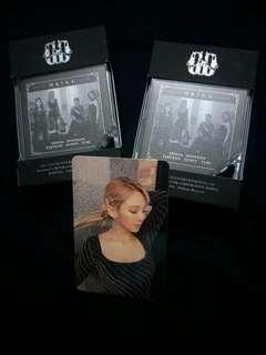 SNSD Oh!GG Lil' Touch Photo Card Hyoyeon