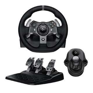 <Pre-order> 全新Brand New Logitech G920 Racing Wheel + Shifter 軚盤 + 波棍 (Xbox and PC) Forza 7 Horizon 4
