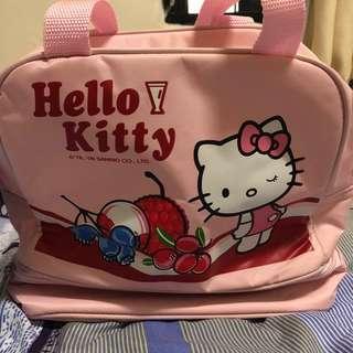 🚚 小資女孩👧Hello kitty保冷便當袋(粉紅/粉藍)