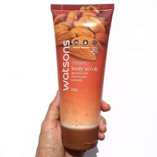 Watsons Cream Body Scrub  #OCT10