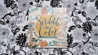 Adult Coloring pad by Ink scribbler