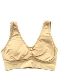 Nude Sports Bra  #OCT10