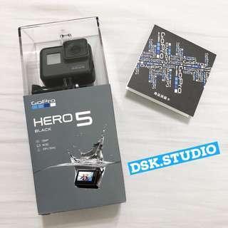 🚚 送「微軟擦拭布 」GoPro Hero 5 忠欣公司貨