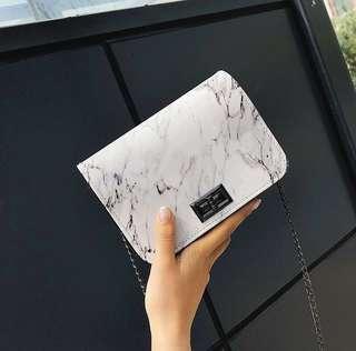 🌸PREORDER🌸 marble sling bag