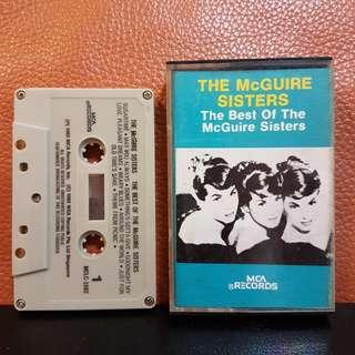 Cassette》The McGuire Sisters