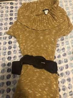 Brown top/dress Size Small