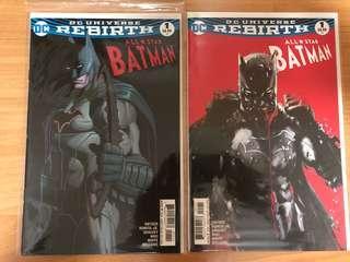 All star Batman #1 (Rebirth Series)