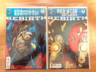 Red hood and Blue Beetle (DC rebirth) #1