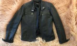 Leather jacket- real leather !