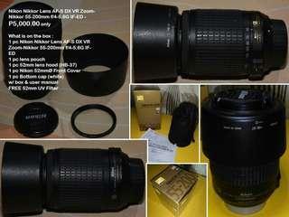 Nikon dslr lense
