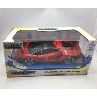 Jada Toys Hyper-Spec Lamborghini Centenario Red