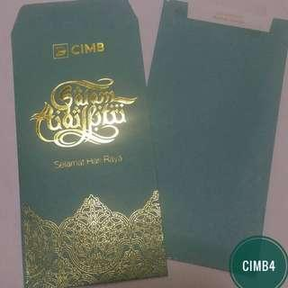 CIMB4 - 2015 CIMB Bank Sampul Raya / Angpow packet