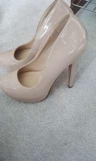 Spring heels size 8