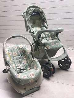 Graco Stroller and Car seat Travel System