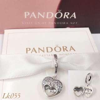 Pandora I love my mom Charm