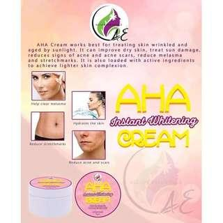 AHA Instant Whitening Cream 10 grams