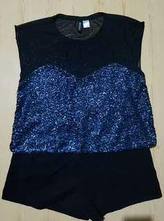 H&M Sequenced Top