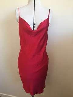 Bardot Silk Slip Dress - Size 10