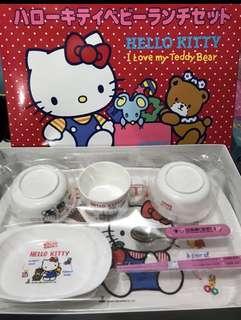 Hello Kitty 餐具套裝7⃣️件裝