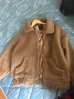 Cotton on teddy jacket