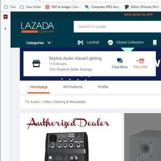 Audio and Visual Equipments
