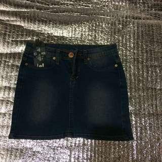 Rok jeans mini guess