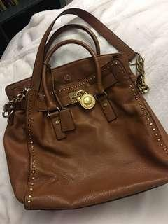 ⚫️Michael Kors Large Leather Brown Handbag Purse