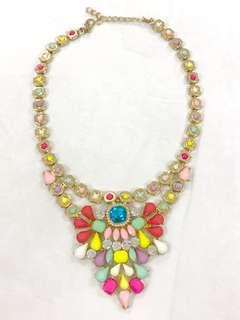 Kalung gold colorful