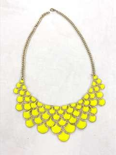 Kalung yellow neon