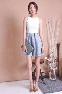 🚚 Neonmello (NM) Fraise Razor Fit N Flare Dress