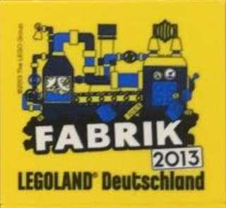 Legoland promotion brick 2013