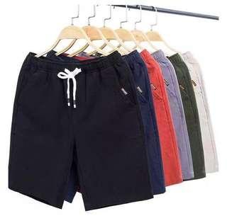 (INSTOCK, BLACK M) Men's Summer Shorts