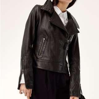 XS Aritzia Mackage Kenya Leather jacket
