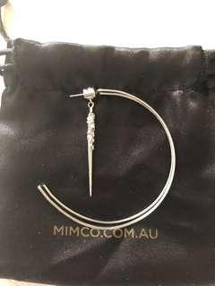 Mimco Large Hoop Earrings