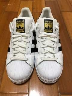 🚚 Adidas superstar us9 27cm 貝殼頭