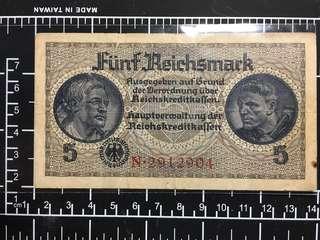 German Reichsmark 1939-1944 Authentic #1