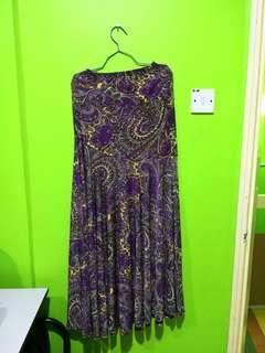 XL Long Skirt